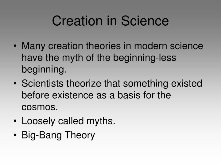 Creation in Science