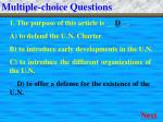 multiple choice questions1