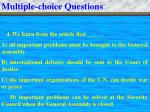 multiple choice questions6