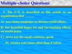 multiple choice questions8
