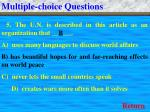 multiple choice questions9