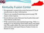 kentucky fusion center