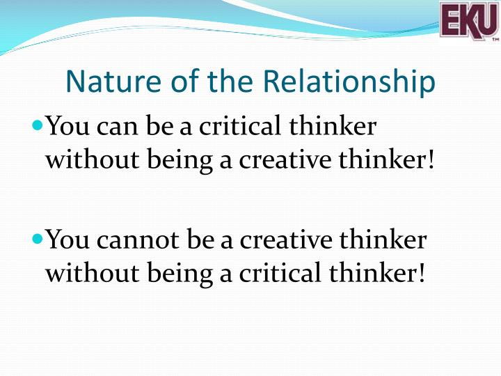 Nature of the Relationship