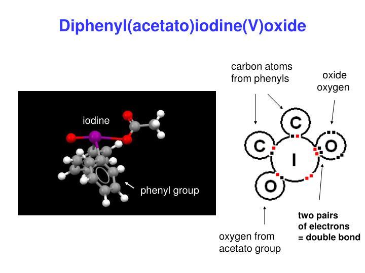 Diphenyl(acetato)iodine(V)oxide