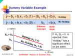 dummy variable example2