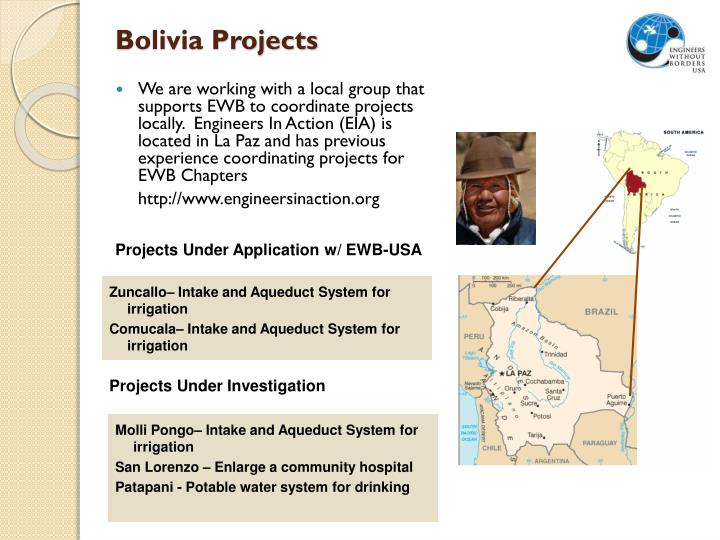 Bolivia Projects