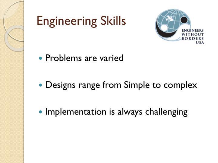 Engineering Skills