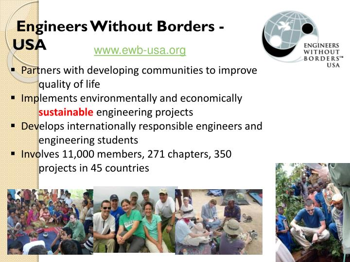 Engineers Without Borders - USA