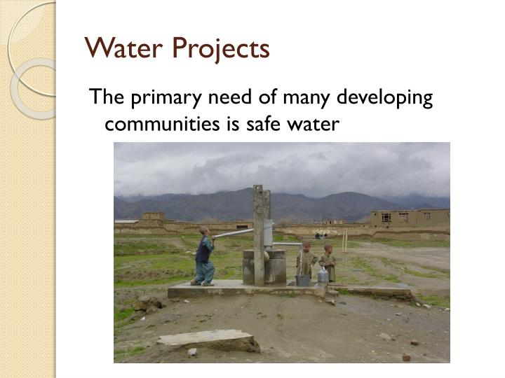 Water Projects