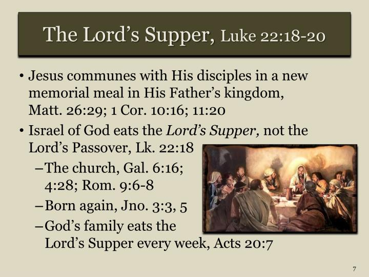 The Lord's Supper,