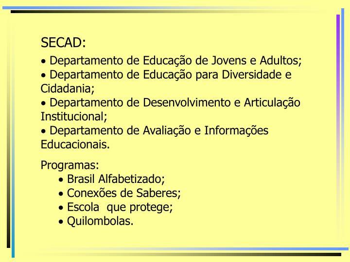 SECAD: