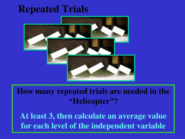Repeated Trials