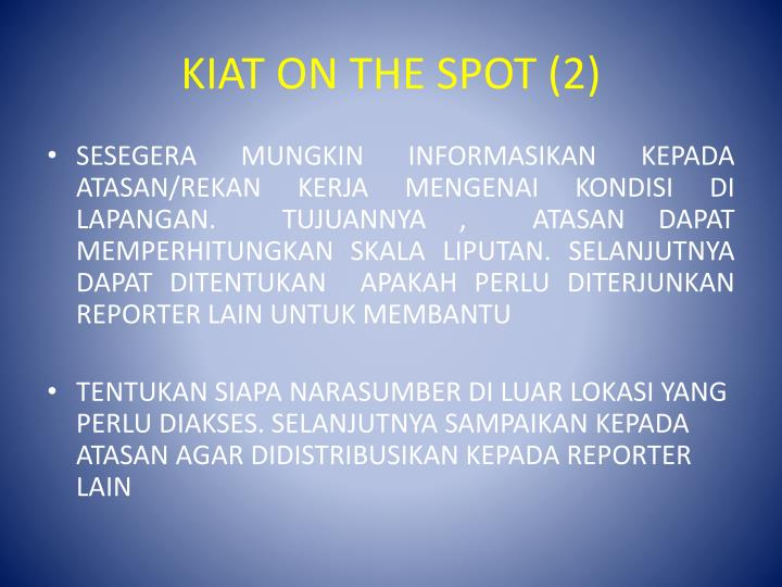 KIAT ON THE SPOT (2)