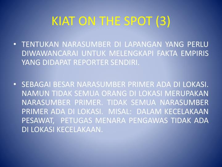 KIAT ON THE SPOT (3)