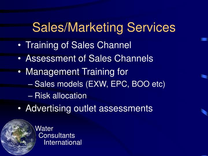 Sales/Marketing Services
