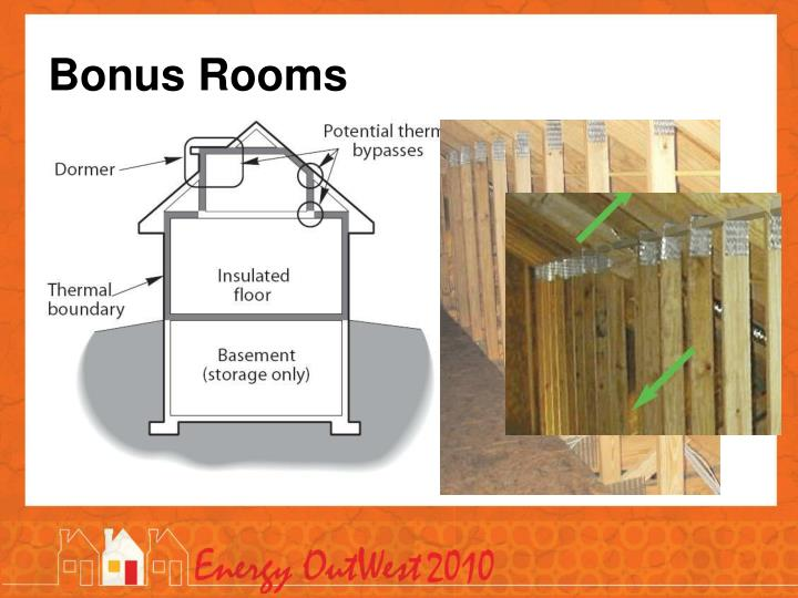 Bonus Rooms