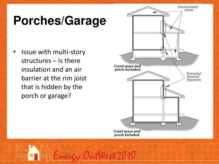 Porches/Garage