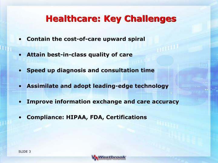 Healthcare: Key Challenges