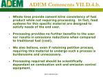 adem comments vii d 4 b1