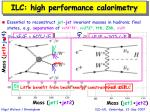 ilc high performance calorimetry