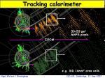 tracking calorimeter
