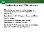 key functions from vpaa to provost1