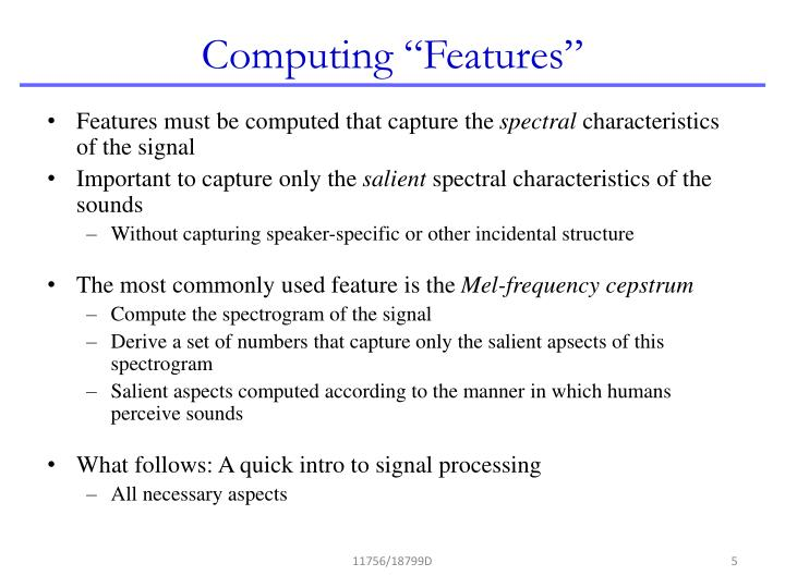 "Computing ""Features"""