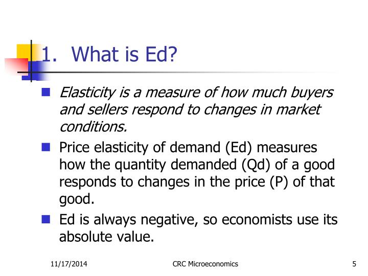 What is Ed?