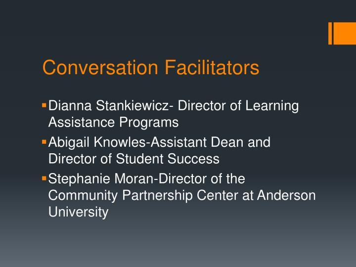 Conversation Facilitators