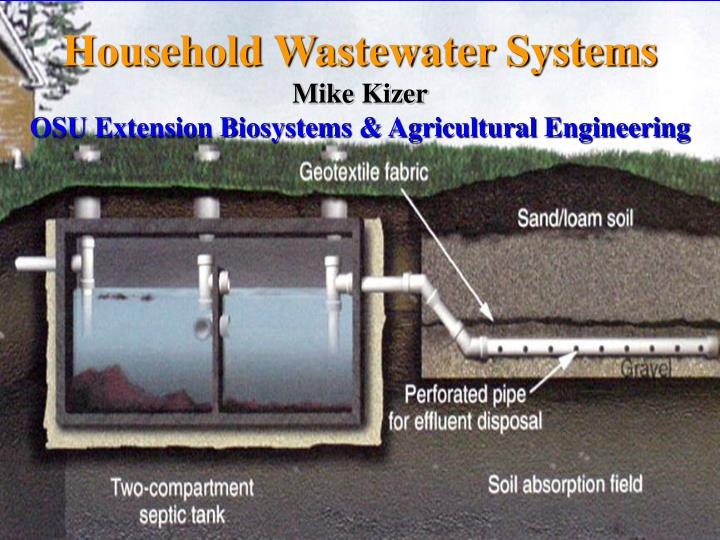 Household Wastewater Systems