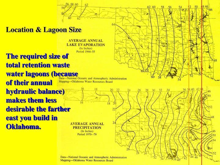 Location & Lagoon Size