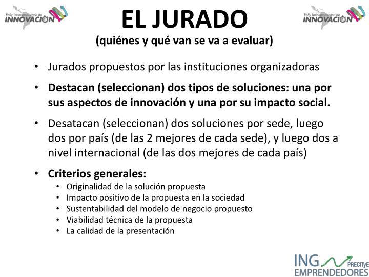 EL JURADO