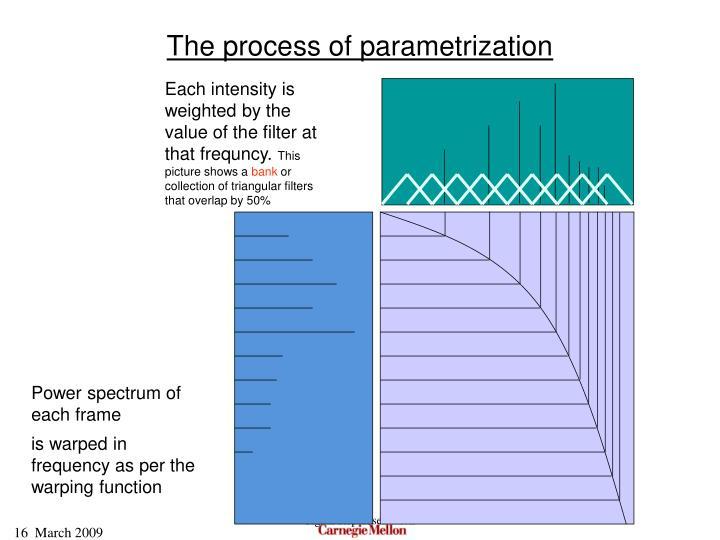 The process of parametrization