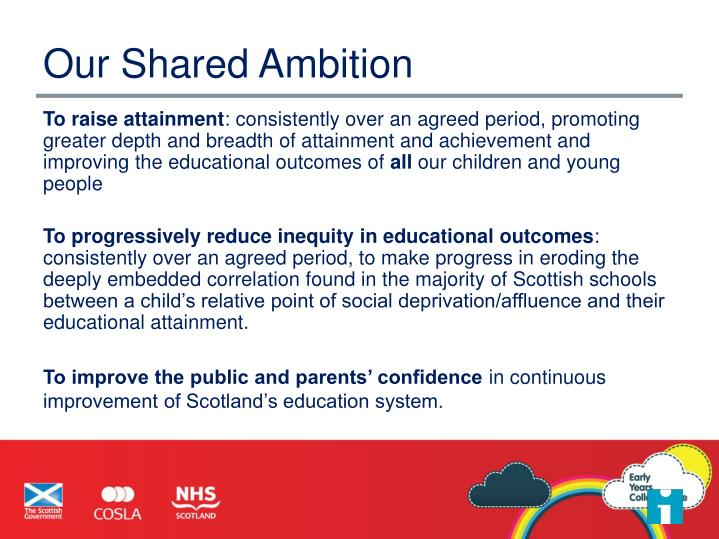 Our shared ambition