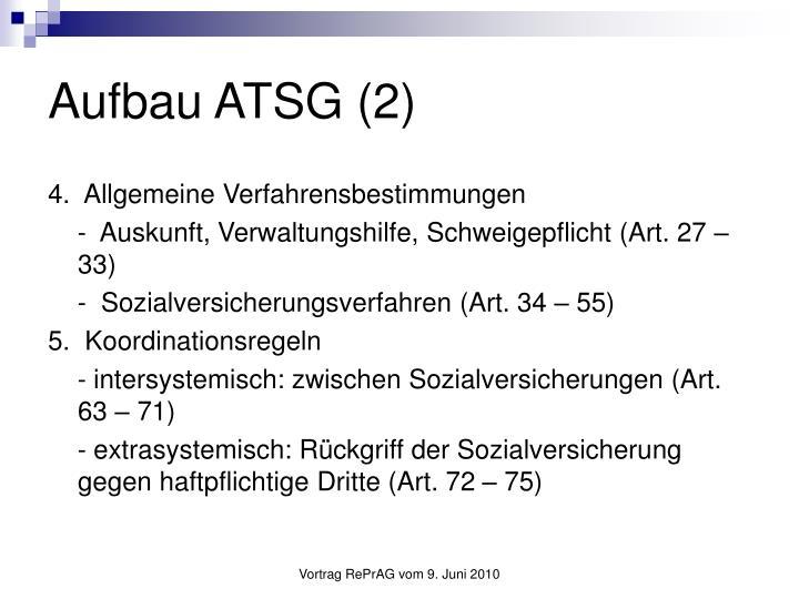 Aufbau ATSG (2)