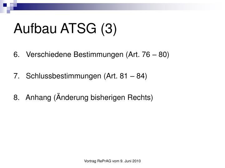 Aufbau ATSG (3)