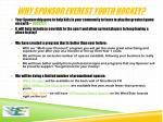 why sponsor everest youth hockey