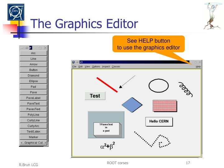 The Graphics Editor