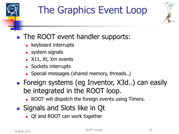 The Graphics Event Loop