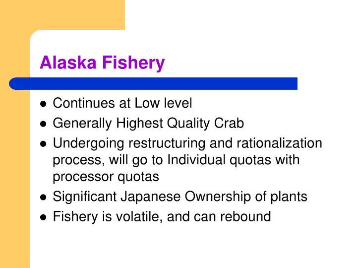 Alaska Fishery