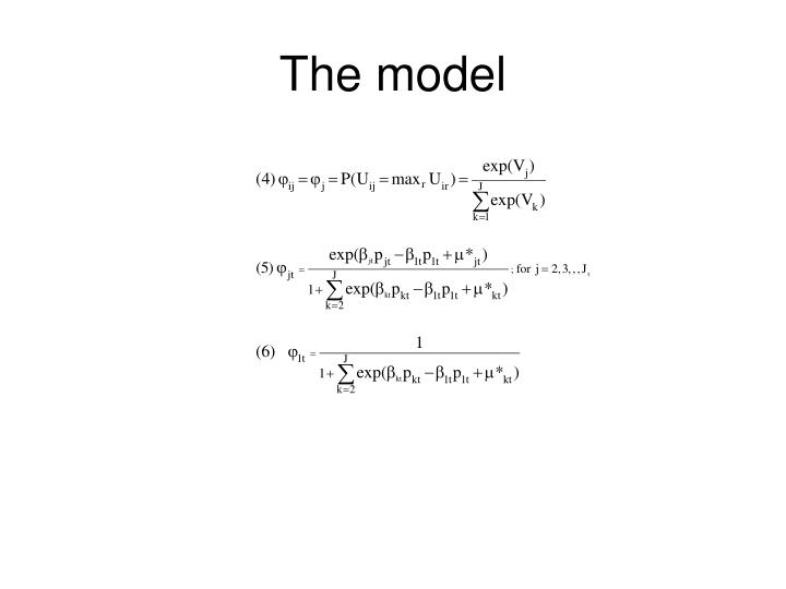The model1
