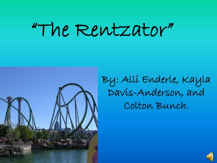 the rentzator