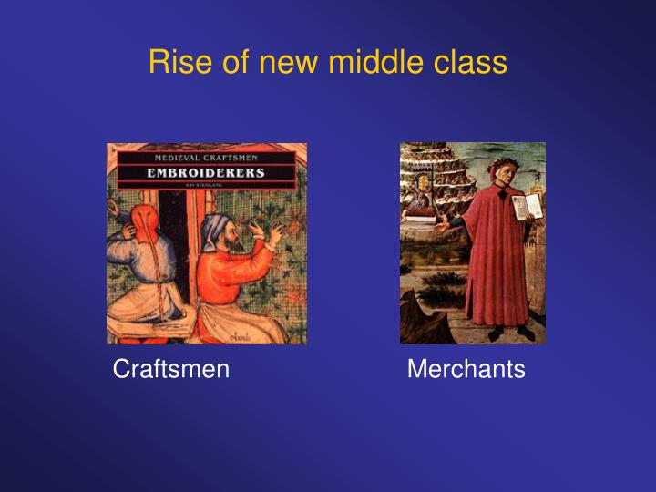 Rise of new middle class