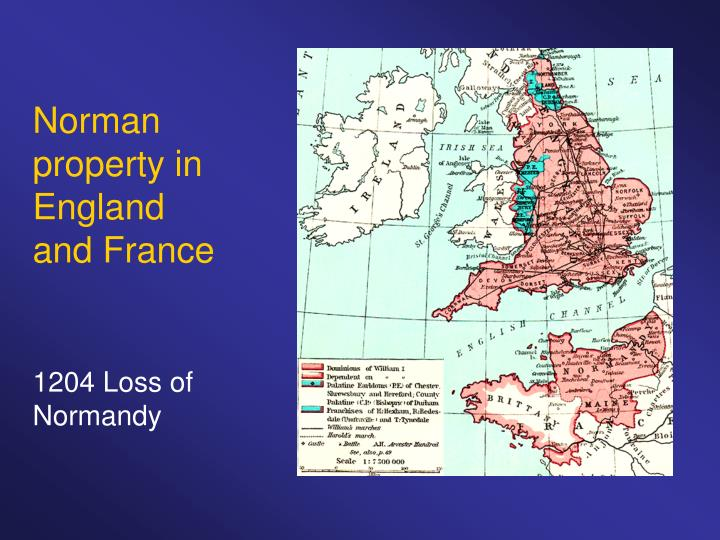 Norman property in England and France