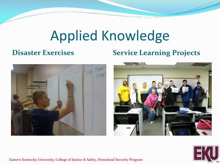 Applied Knowledge