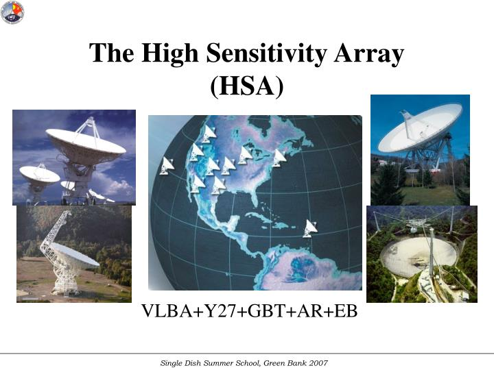 The High Sensitivity Array