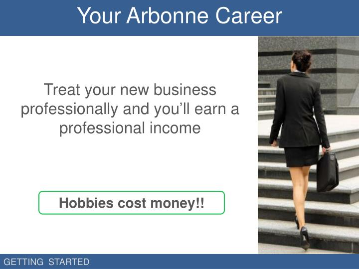Your Arbonne Career