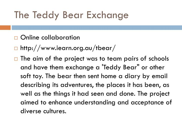 The Teddy Bear Exchange