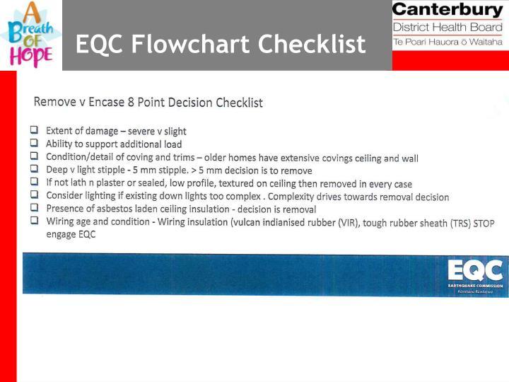 EQC Flowchart Checklist
