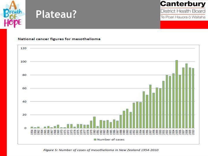 Plateau?